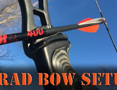 Setting up a Recurve or Long Bow